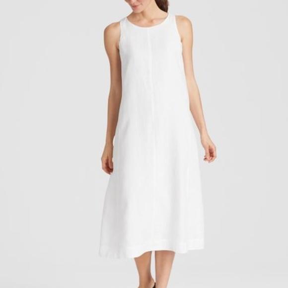 a5d2aad30d18 Eileen Fisher Dresses   Organic Handkerchief Linen Dress   Poshmark